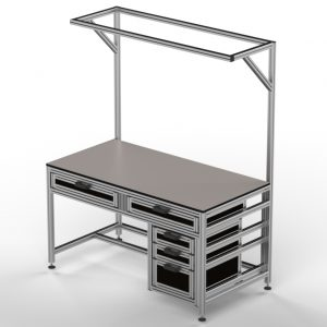 Factory Solutions-1600x800-Work Station 5 Drawer